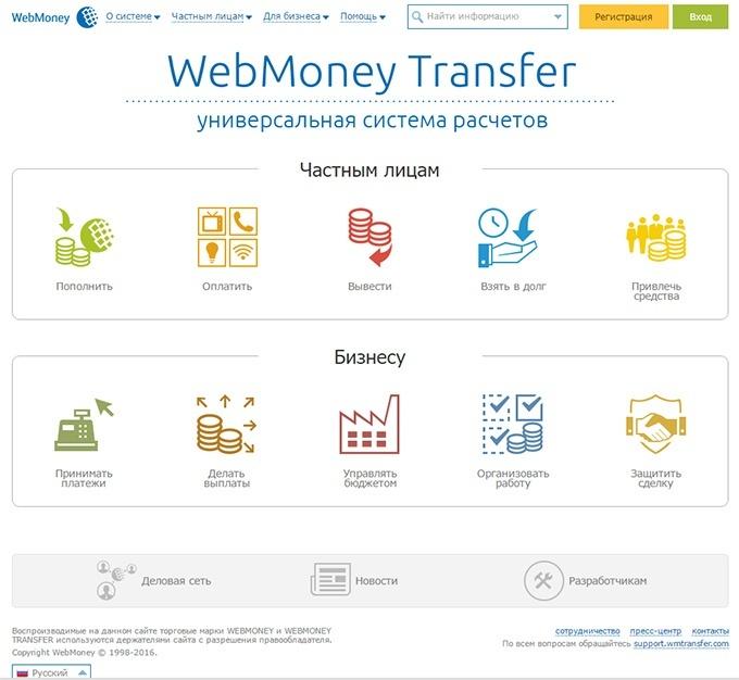 Как завести вебмани кошелек в России