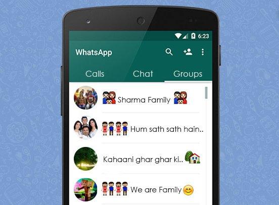 Как добавить в группу в WhatsApp