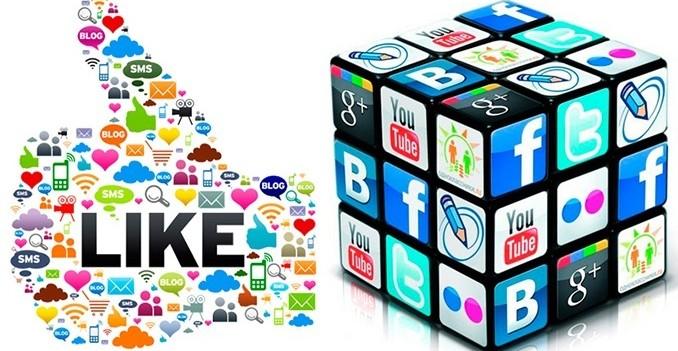 Социальные кнопки